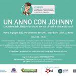 Un anno con Johnny, Roma 8 Giugno 2017 | Parlamentino del CNEL