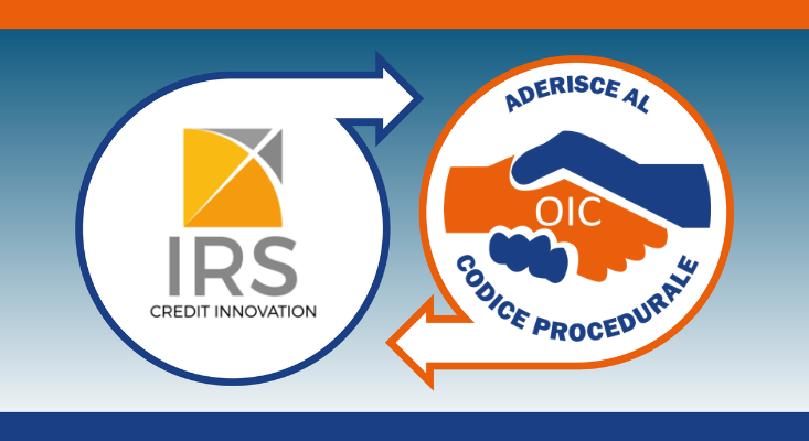 IRS Credit Innovation aderisce al Codice Procedurale dell'Osservatorio Imprese e Consumatori