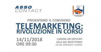 """OIC e Assocontact presentano il Convegno: """"Telemarketing, rivoluzione in corso"""""""