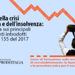 Corso di alta formazione OIC-Prodeitalia: Il codice della crisi di impresa e dell'insolvenza