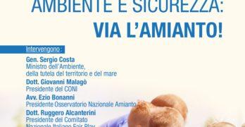 """OIC consiglia Conferenza ONA-FAIRPLAY: """"Sport e Scuola, Ambiente e Sicurezza: Via l'Amianto!''"""