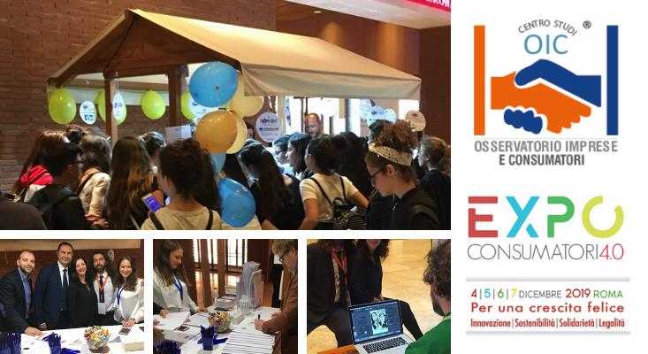OIC ad EXPO Consumatori 4.0 dal 4 al 7 Dicembre