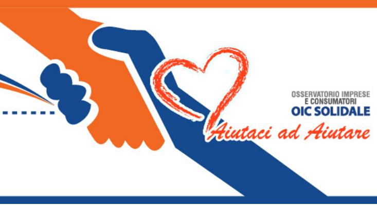 OIC Solidale – Un impegno concreto e permanente del nostro Osservatorio