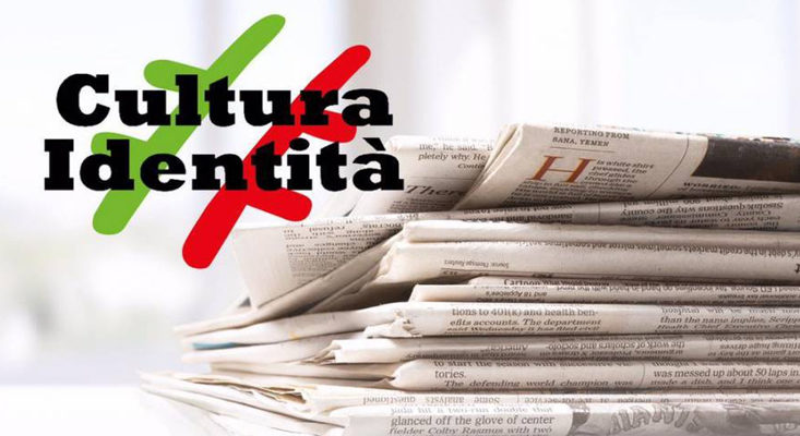 Venerdì 4 settembre in edicola sul nuovo numero di CulturaIdentità l'intervento del Presidente Operativo di OIC, Gianluca Di Ascenzo