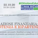 Educazione Finanziaria: Resistenza e Ripartenza – online sul sito del MEF l'evento OIC del 22 ottobre